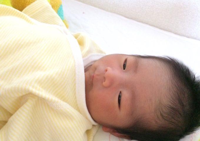 第一子が生れました!