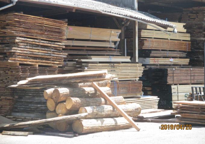 天然木の1枚板