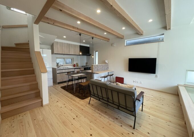 ちょうどよく住みやすいシンプルな家